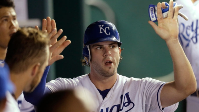 Evolving Moustakas a hit on and off the field