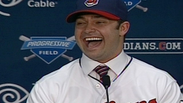 Deal official, Swisher unveiled by Tribe