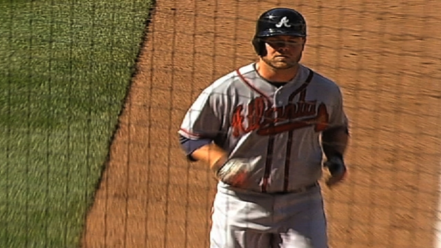 Braves encouraged with McCann's bat, arm