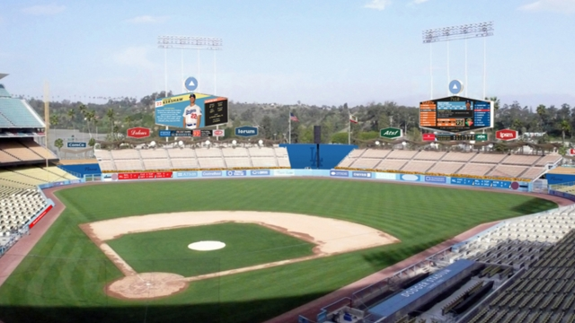 Vast upgrades being made to Dodger Stadium