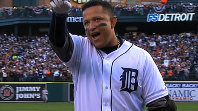 MLB Notebook: Breaking down Miggy's Crown