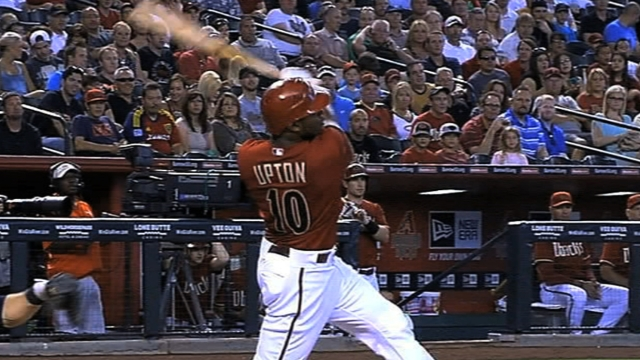 D-backs' Upton nixes trade to Mariners