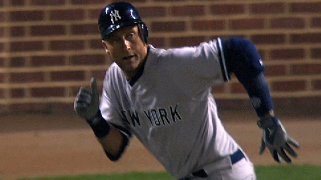 Cashman: Jeter out of boot, working out in Tampa