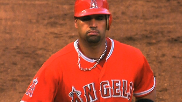 Pujols may play in Classic, but not Trout, Hamilton