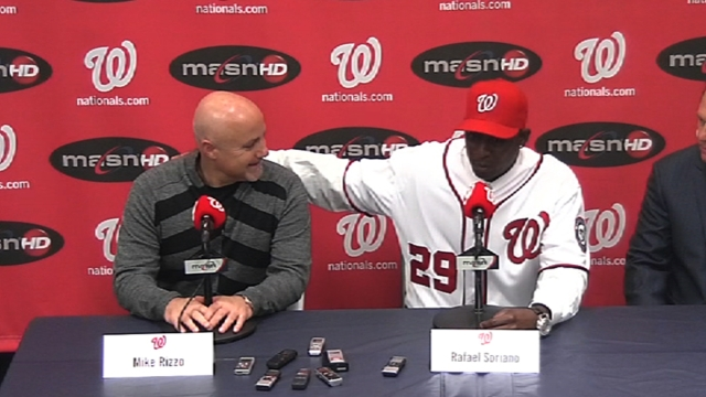 Deal official, Nationals introduce Soriano