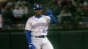 Griffey&#039;s first big league hit