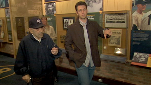 Visit to Yogi's museum gives Posey perspective