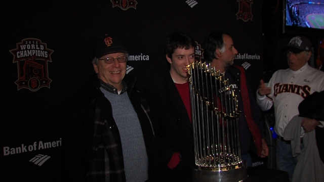 Hall exhibit to toast Giants' 2012 World Series title