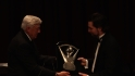 Dickey honored at BBWAA dinner