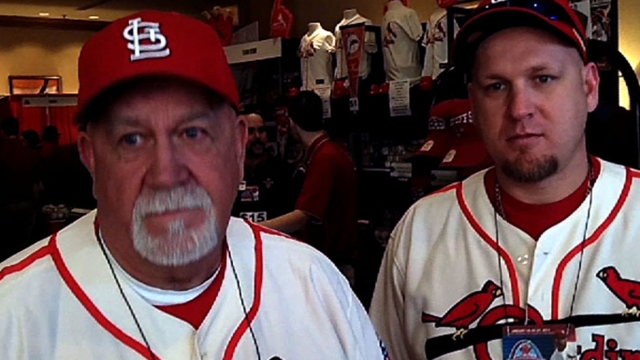 Cards Winter Warm-Up turns into Musial tribute