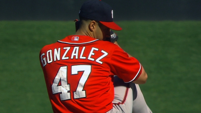 Gio to stay with Nats, miss first round of Classic