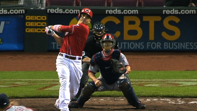 Votto goes yard to lead Reds vs. Brewers