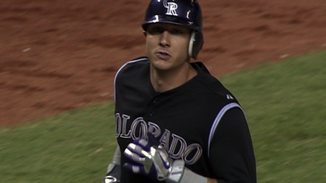 Tulo's hustle on infield single proves health