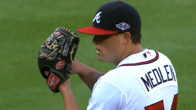 Medlen admits to butterflies under calm exterior