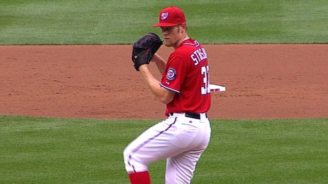 Sky's the limit, and Strasburg has lofty goals