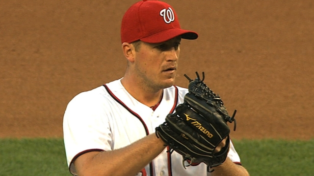 Zimmermann near perfect before Nats fall