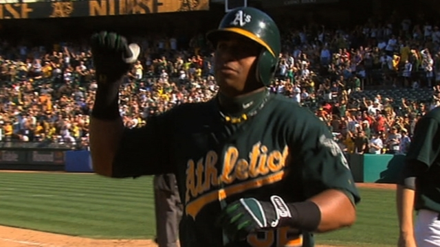 Cespedes more at ease for sophomore season