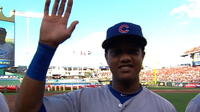 Starlin sets sights on first Gold Glove Award