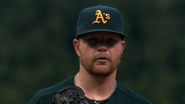 Anderson looking to pull his weight for A's staff