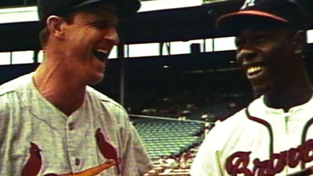 Aaron-Musial friendship extended far from field