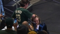 Fan gets to touch Griffin&#039;s hair