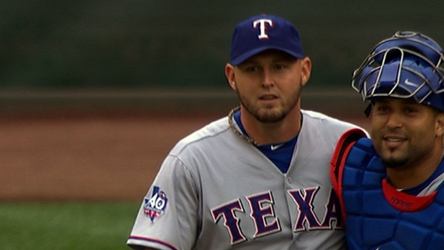 Up to eight pitchers in hunt for Rangers' No. 5 spot