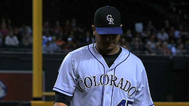 Chacin, Rockies finalize with two-year deal