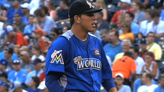 Two studs highlight Marlins' revamped system