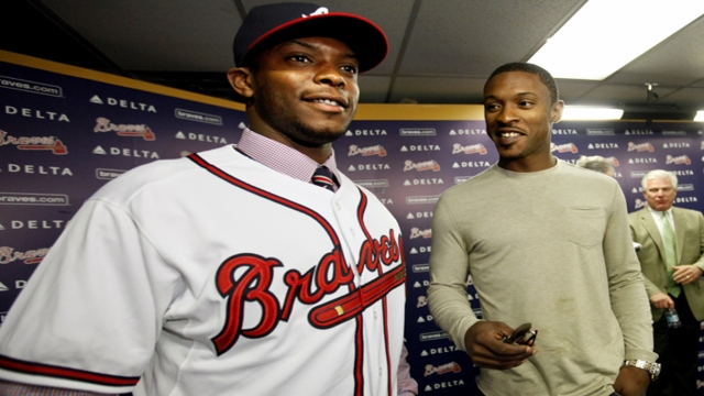 Upton brothers' parents glad to see sons together