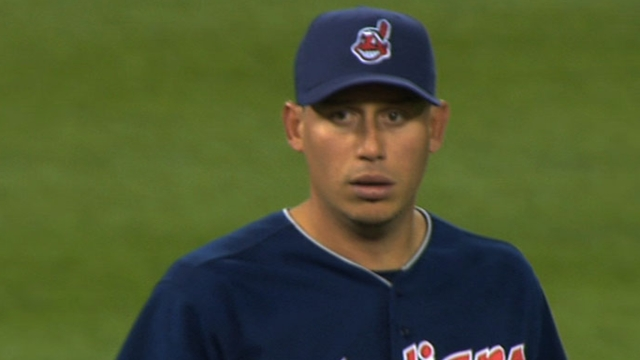 Sore back keeps Asdrubal out of Tribe's lineup