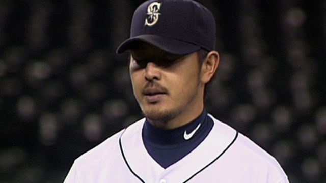 Iwakuma battles effects of heat against A's