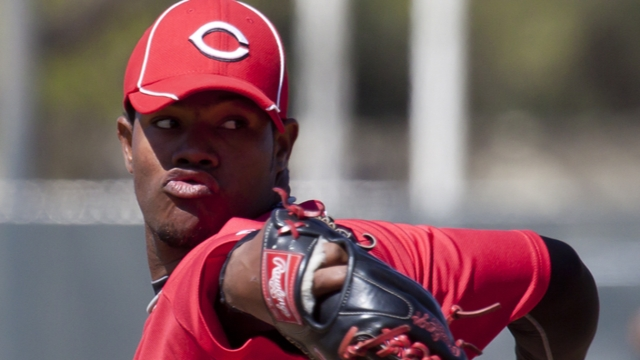 Price calls prospect Corcino a bright spot early in camp