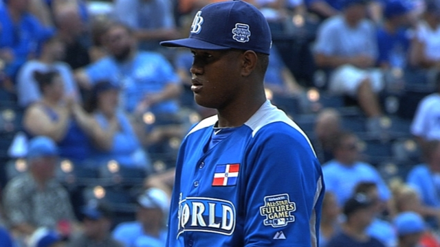 Wow factor abounds for Rays prospect Romero