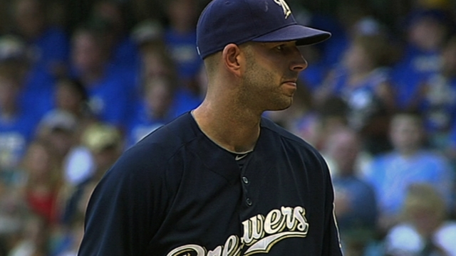 Fiers eager to contribute in Brewers' rotation