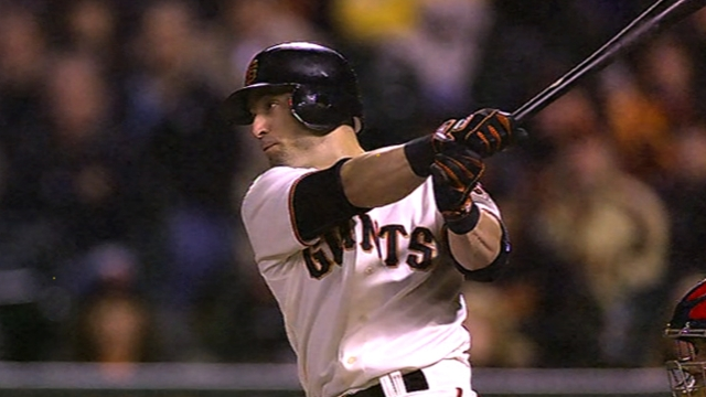 Back with Giants, Scutaro plays part of star