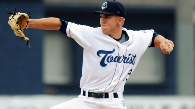 Pitching prospect Anderson on seven-day DL