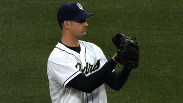 Wieland eager to get back on track with Padres