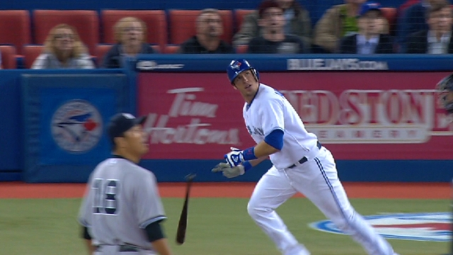 Arencibia homers twice in blowout win over Phils