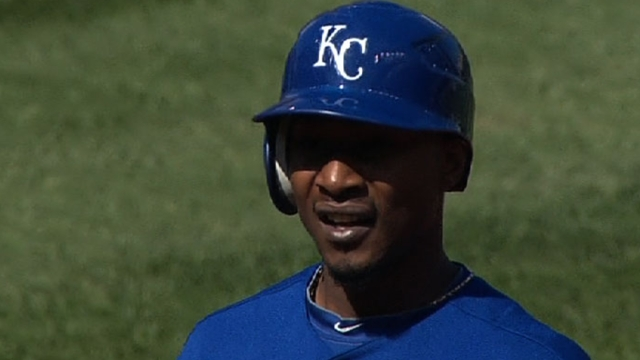 Dyson first lineup change of season for KC
