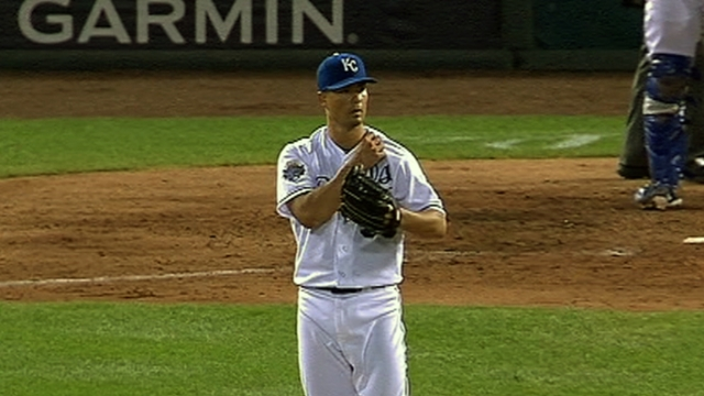 Guthrie finds home with Royals in Kansas City