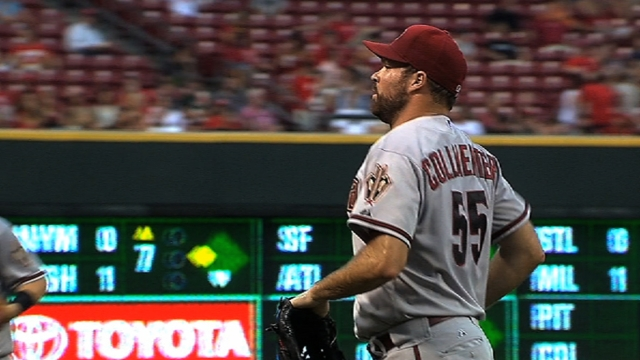 Collmenter carves own niche en route to D-backs
