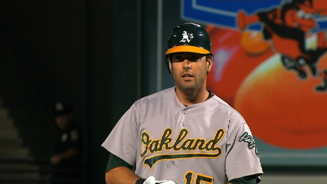 Smith eager to contribute to A's crowded outfield