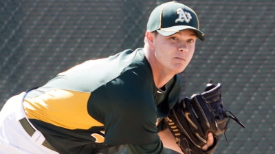 Gray joins A's anticipating role in bullpen