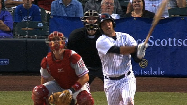 Yanks easing catcher Romine into action