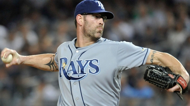 Rays bring back Farnsworth, add Johnson