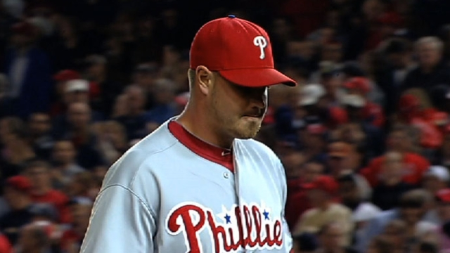 Phillies keep three lefties in 'pen, option Stutes