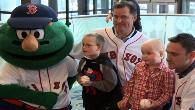 Sox, Jimmy Fund celebrate 60-year partnership