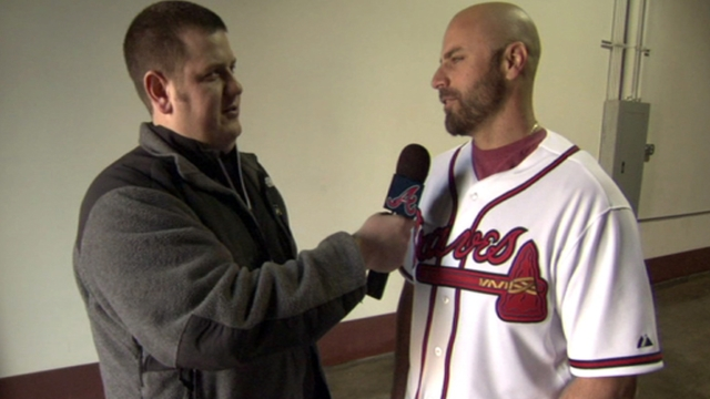 Braves rave about Reed Johnson's presence