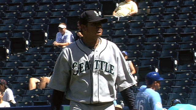 GM disputes report on elbow; Felix 'his normal self'