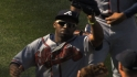 Bourn, Indians agree to deal